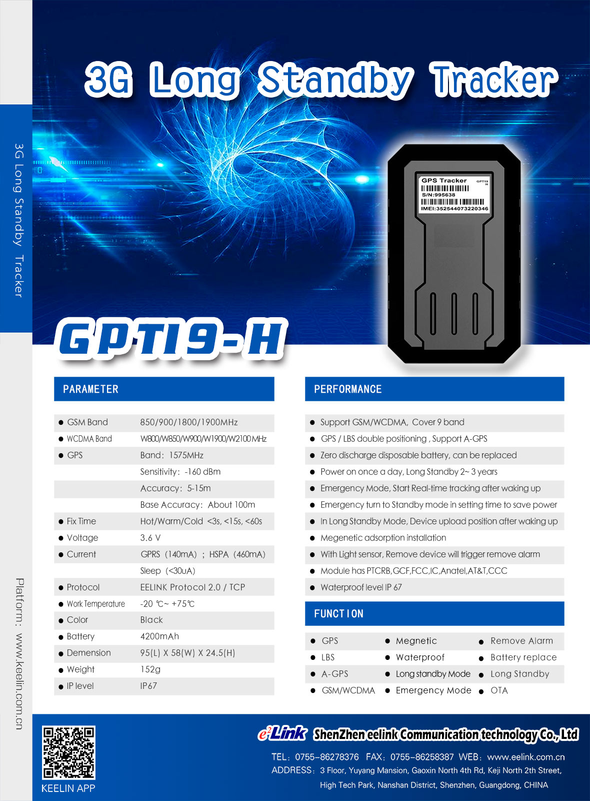 GPT19-H GPS Tracker Documents